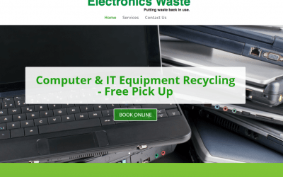 New website for a Glasgow recycling company