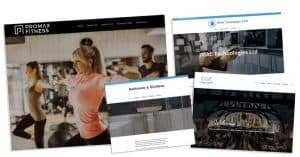 Examples of web design Glasgow Mark Johnstone Photography & Design