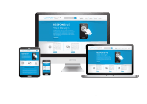 Smart devices with responsive website